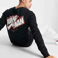 Jordan Jumpman Long-Sleeve T-Shirt Black Back