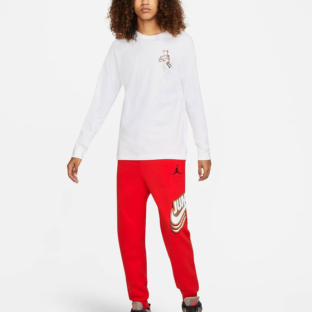 Jordan Jumpman Long-Sleeve T-Shirt DC9775-100 Full