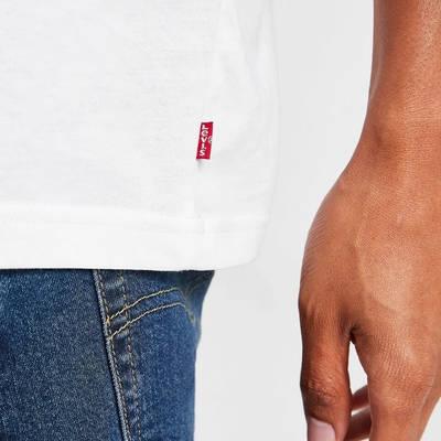 Levis Boxtab T-Shirt White Detail 2