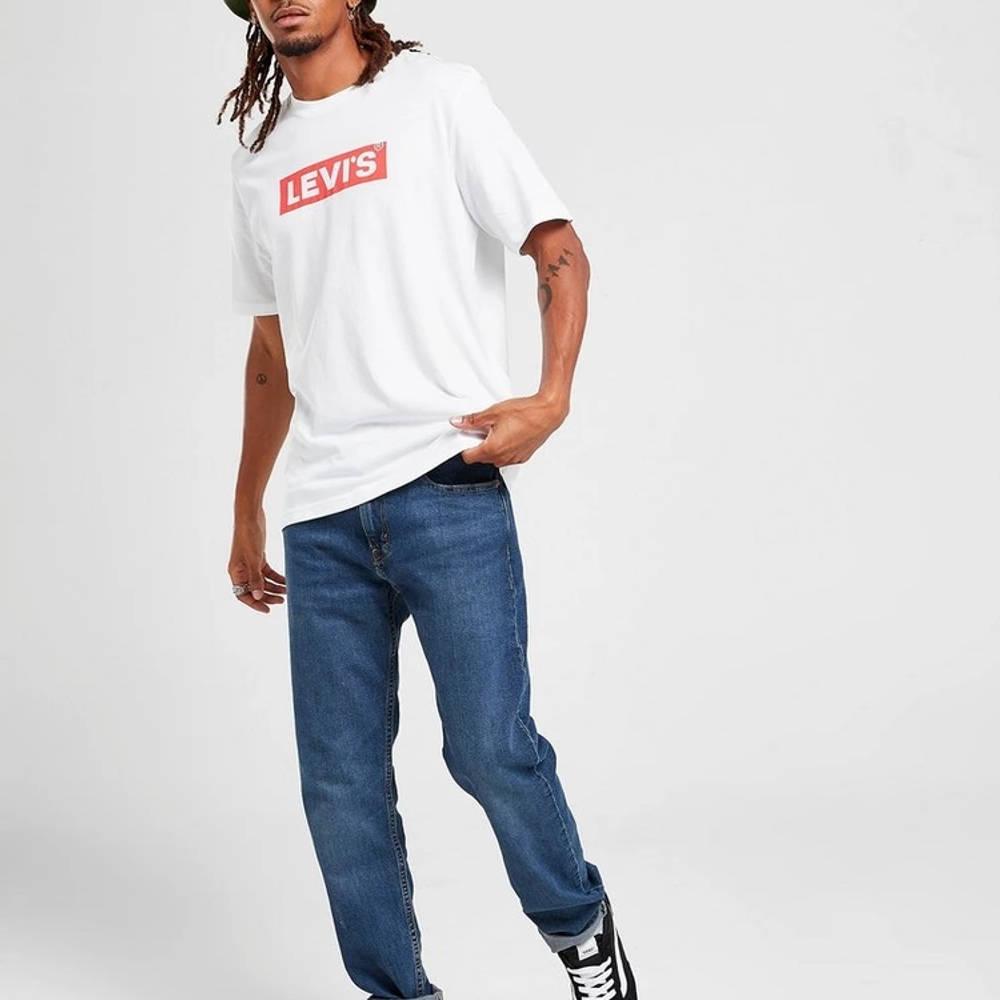Levis Boxtab T-Shirt White Full