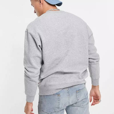 Levi's Relaxed Fit Sweatshirt Grey Back