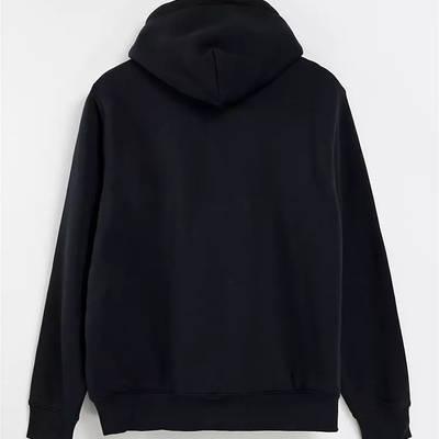 Levi's Sherpa Lined Full Zip Hoodie Black Back
