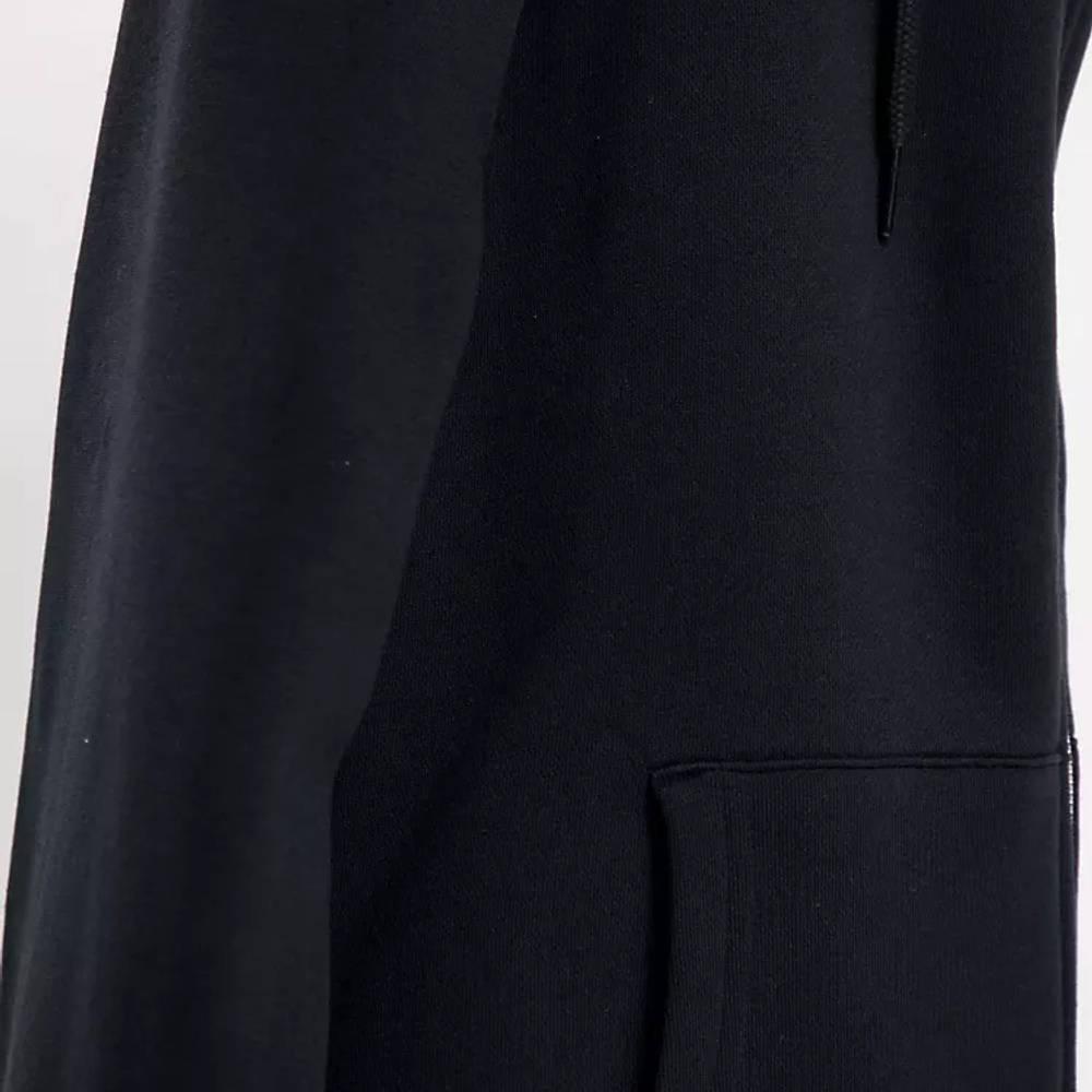 Levi's Sherpa Lined Full Zip Hoodie Black Detail