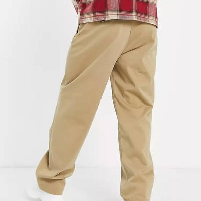 Levi's Skateboarding Loose Fit Chino Trousers Beige Bacl