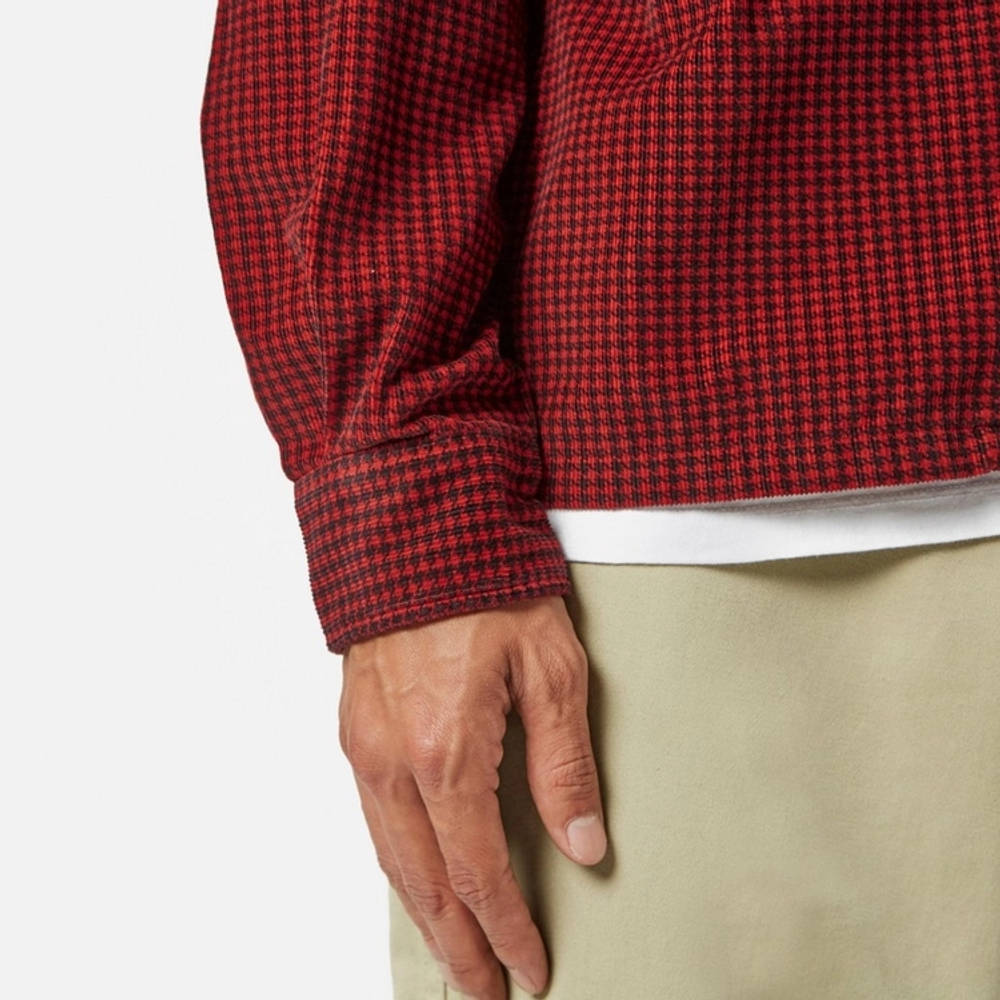 Levi's Vintage Deluxe Check Shirt Red Detail 2