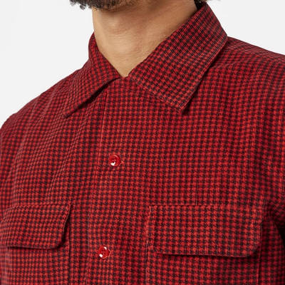 Levi's Vintage Deluxe Check Shirt Red Detail