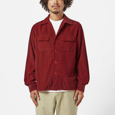 Levi's Vintage Deluxe Check Shirt Red Front