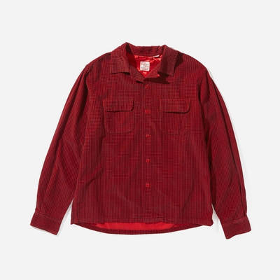 Levi's Vintage Deluxe Check Shirt Red