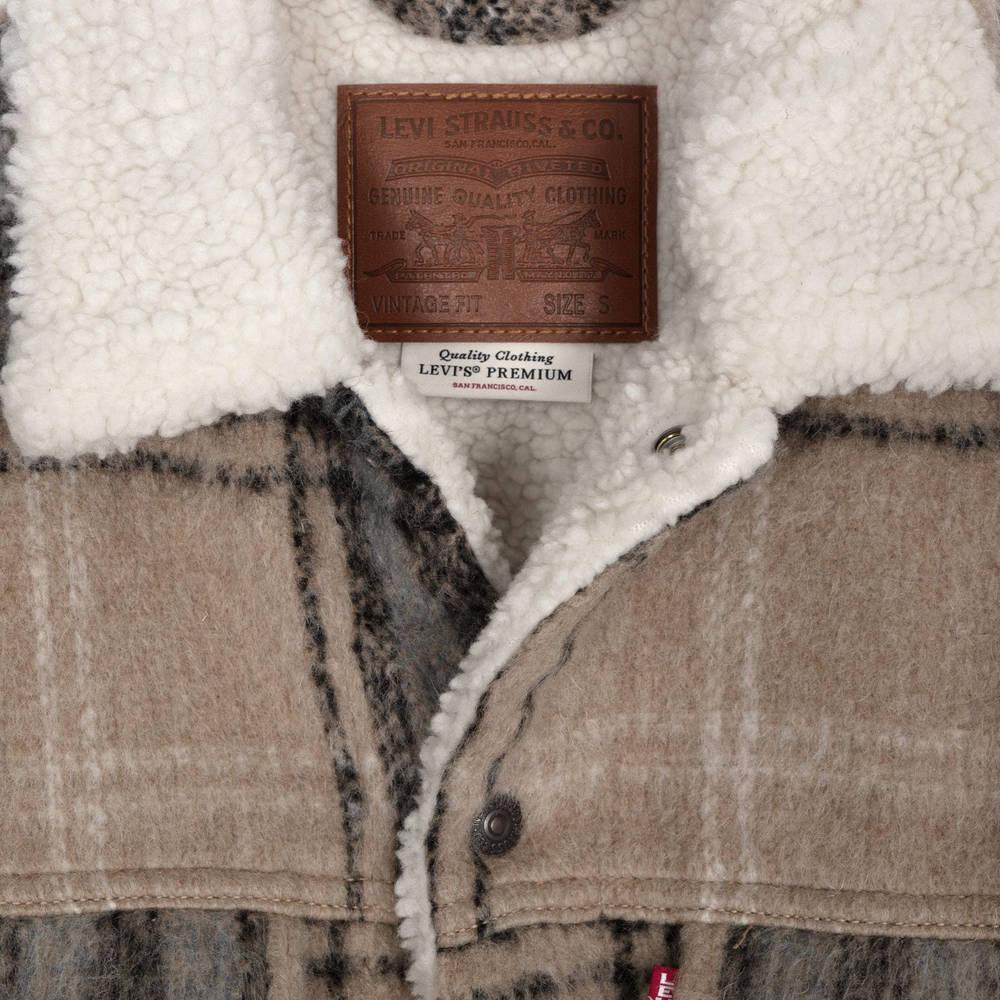 Levi's Vintage Fit Sherpa Trucker 79129-0011 Detail