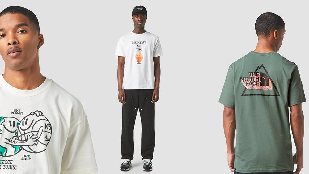 12 of the Freshest Logo & Print Tees Available at Retailers Right Now!