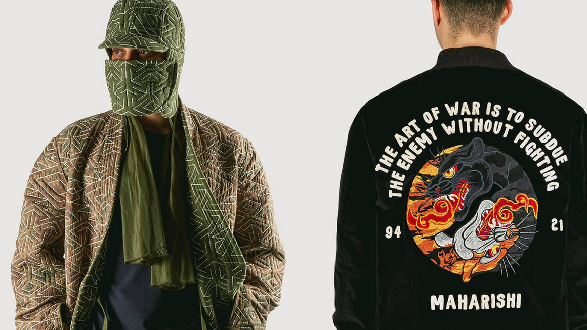 """Maharishi Nod to the the """"Art of War"""" for This Military Inspired FW21 Collection"""