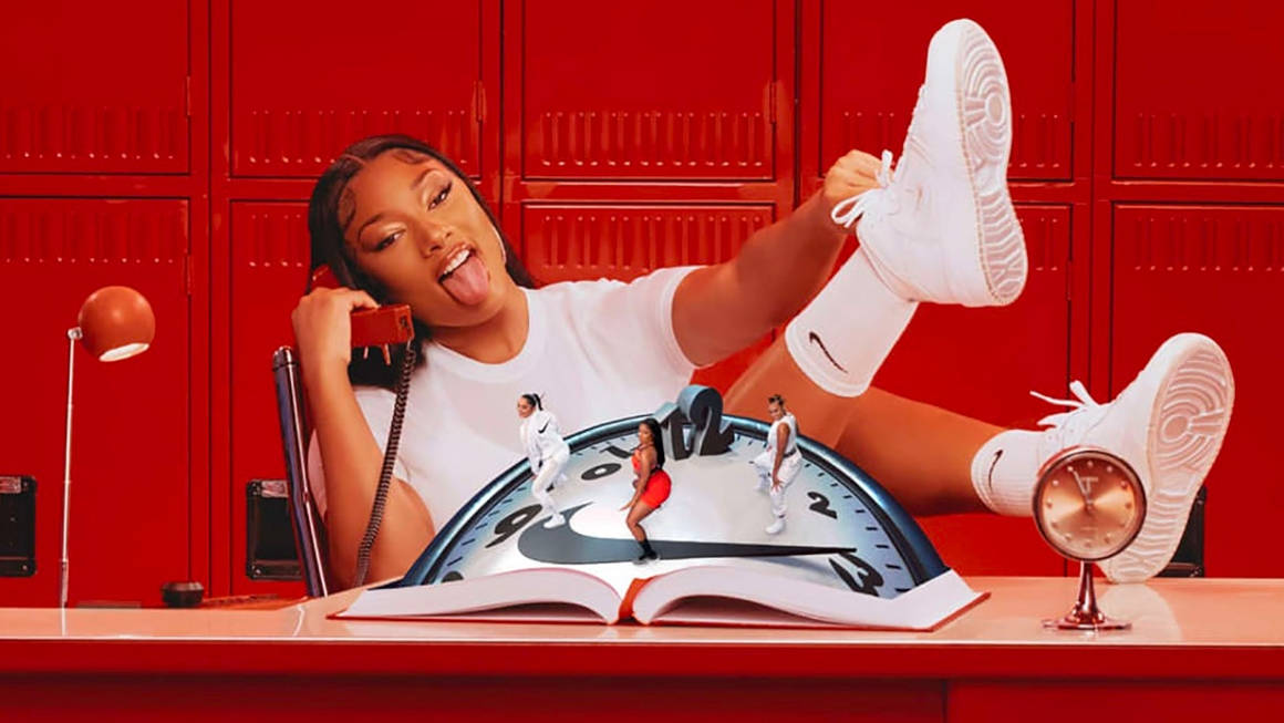 """Megan Thee Stallion Leads Nike's Latest """"Play New"""" Campaign"""