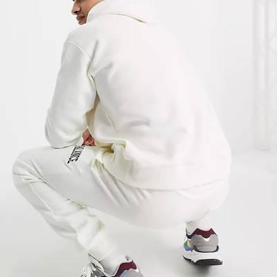 New Balance Collegiate Hoodie Off White Back