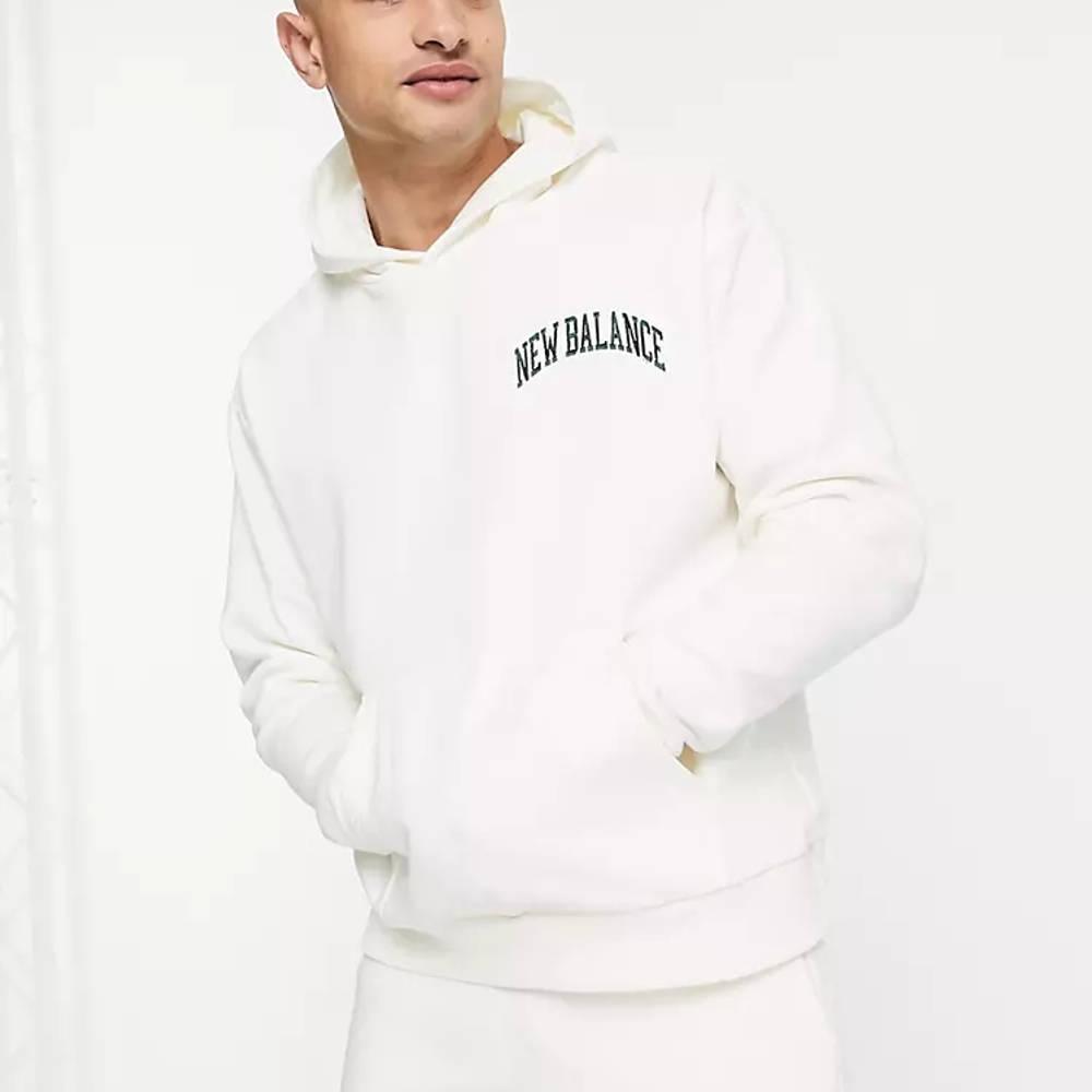 New Balance Collegiate Hoodie Off White