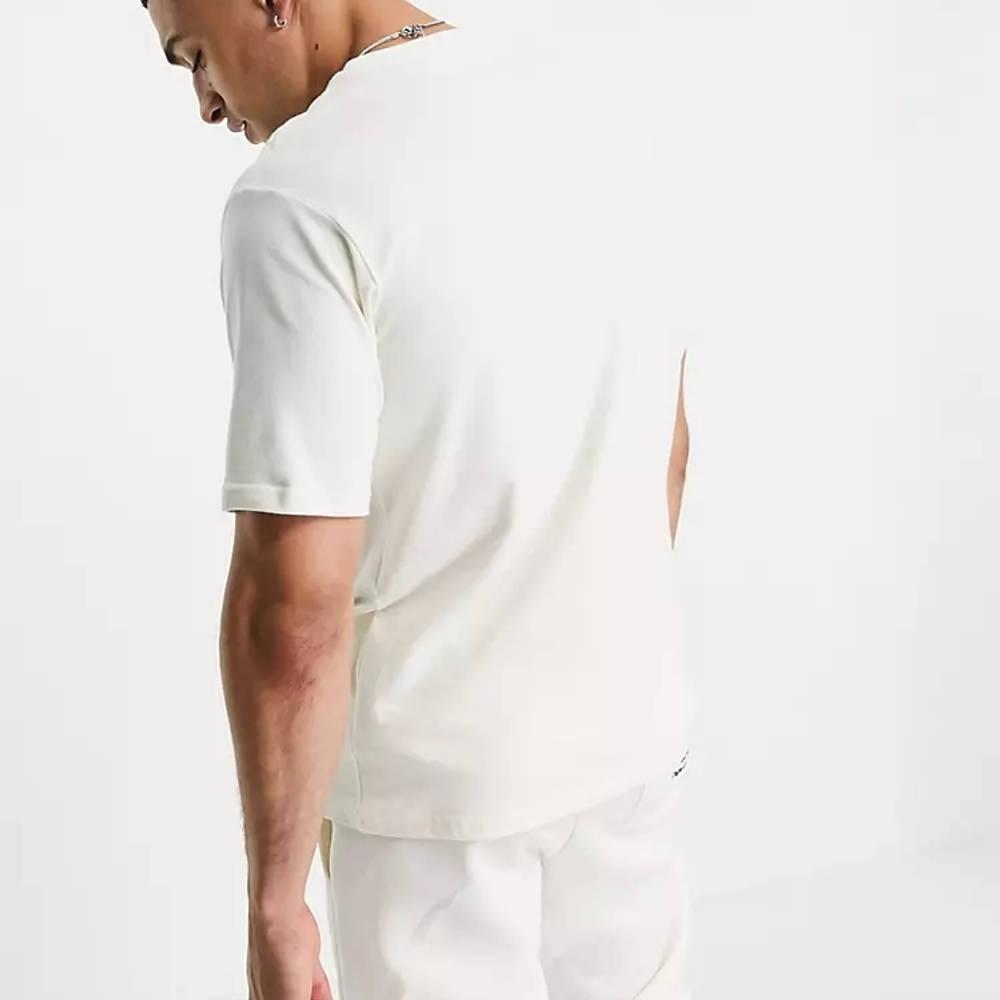 New Balance Collegiate T-Shirt Off White Back