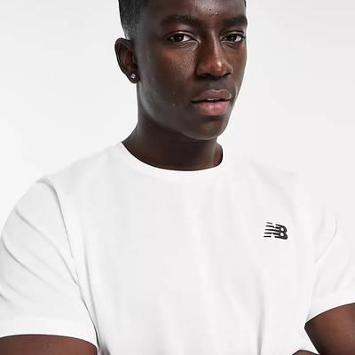 New Balance Fast Flight T-Shirt White Detail