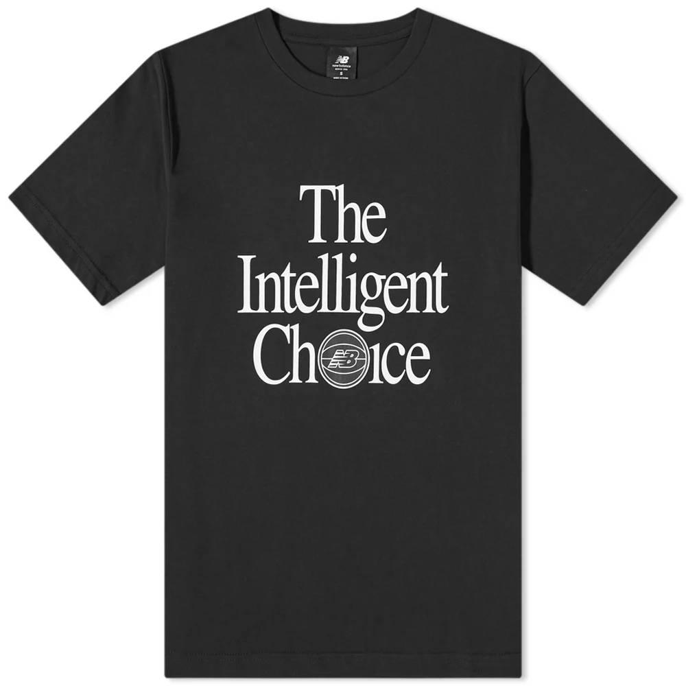 New Balance Intelligent Choice T-Shirt Black