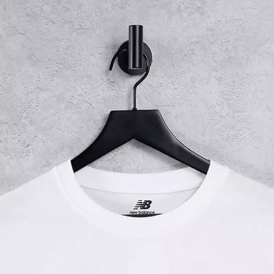 New Balance Linear Logo T-Shirt White Detail