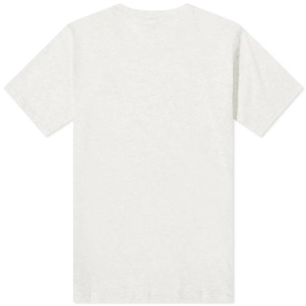 New Balance NB Athletics Minimize T-Shirt Sea Salt Heather Back