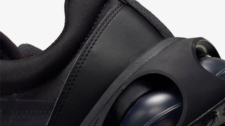 Nike Air Max 2021 Triple Black Closeup