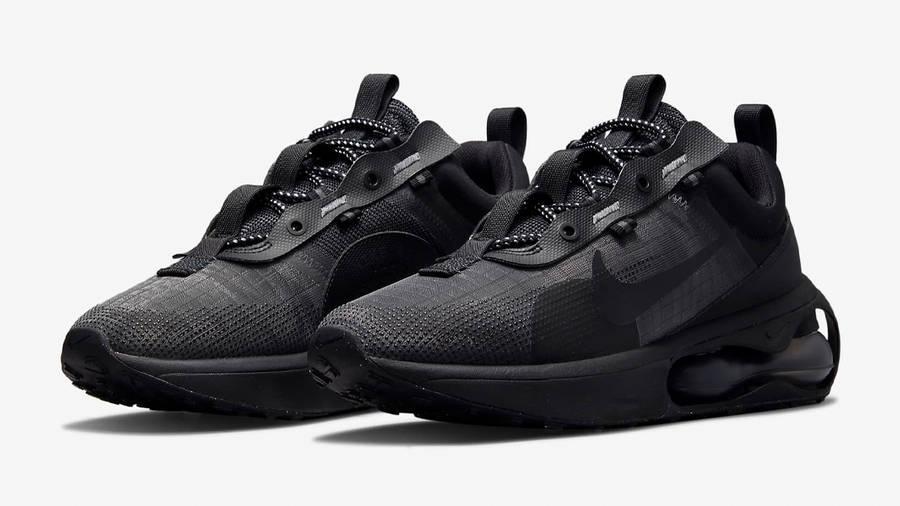 Nike Air Max 2021 Triple Black Front