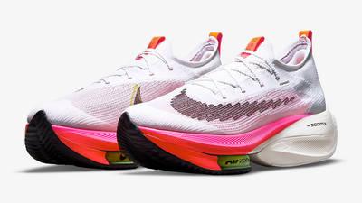 Nike Air Zoom Alphafly NEXT% Rawdacious Pink Blast DJ5455-100 Side