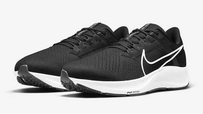Nike Air Zoom Pegasus 38 Black White CZ1815-002 Side