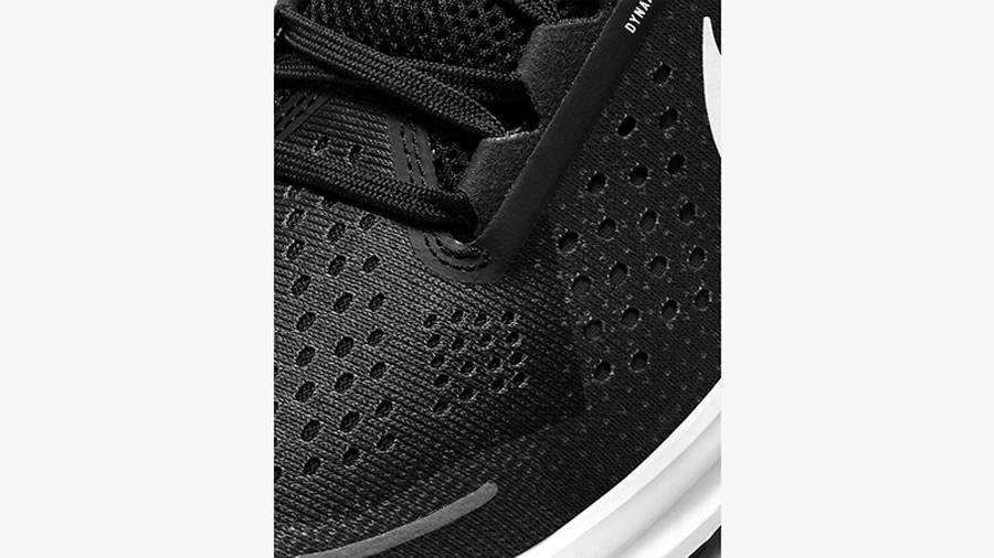 Nike Air Zoom Structure 23 Black White CZ6720-001 Detail
