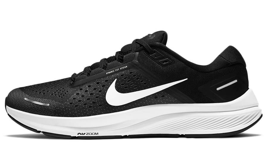 Nike Air Zoom Structure 23 Black White CZ6720-001