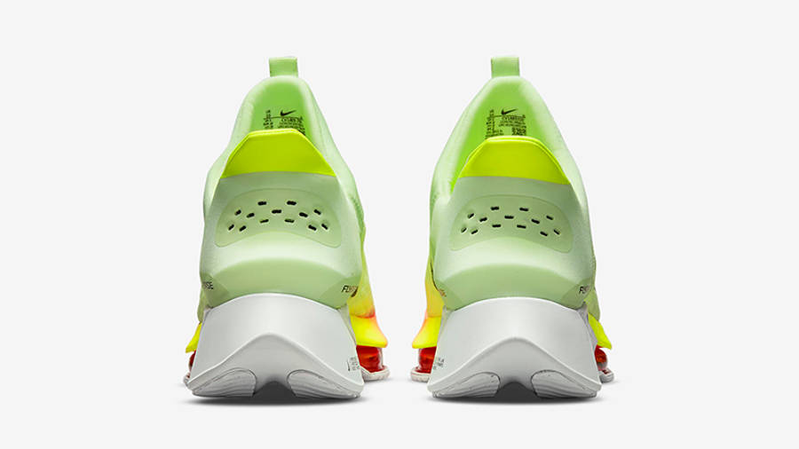 Nike Air Zoom Tempo NEXT% FlyEase Barely Volt CV1889-700 Back