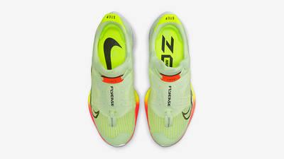 Nike Air Zoom Tempo NEXT% FlyEase Barely Volt CV1889-700 Top