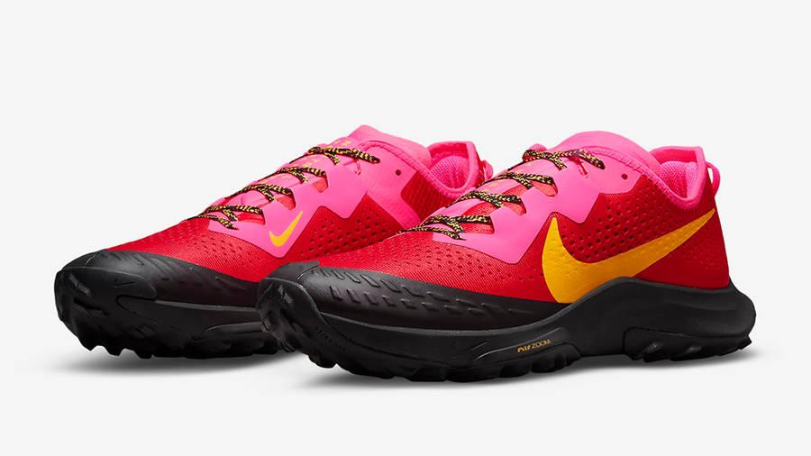 Nike Air Zoom Terra Kiger 7 University Red DM3272-600 Side