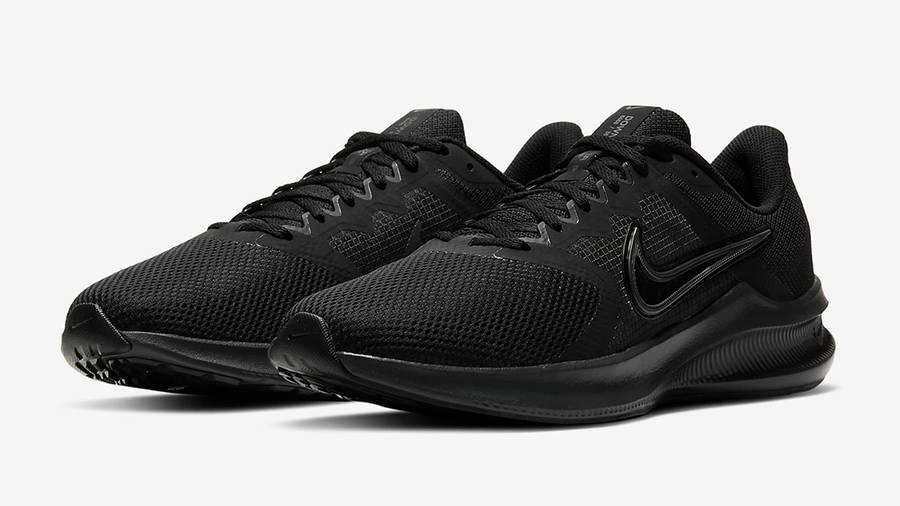 Nike Downshifter 11 Black CW3411-002 Side