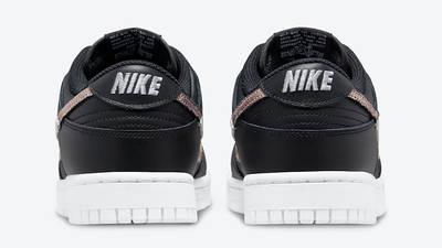 Nike Dunk Low Leopard Black DD7099-001 Back