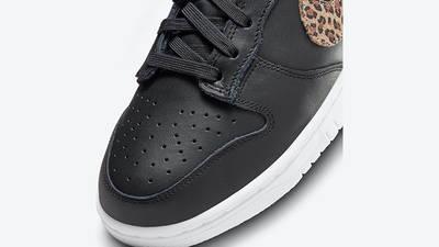 Nike Dunk Low Leopard Black DD7099-001 Detail