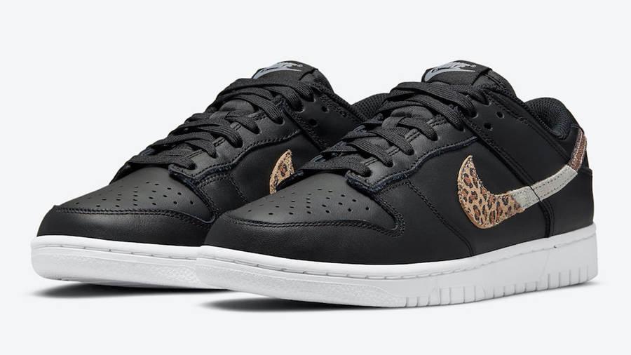 Nike Dunk Low Leopard Black DD7099-001 Side