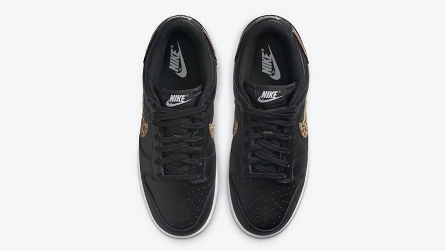 Nike Dunk Low Leopard Black DD7099-001 Top