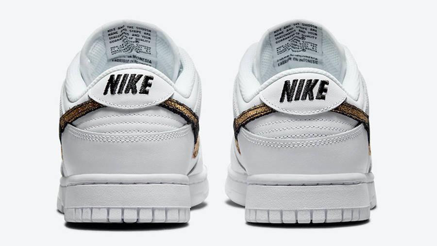 Nike Dunk Low Leopard White DD7099-100 Back