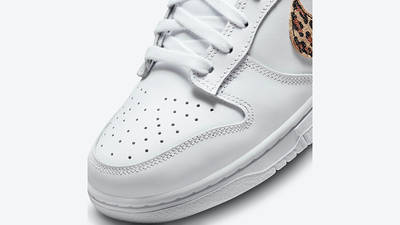 Nike Dunk Low Leopard White DD7099-100 Detail