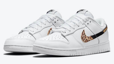 Nike Dunk Low Leopard White DD7099-100 Side