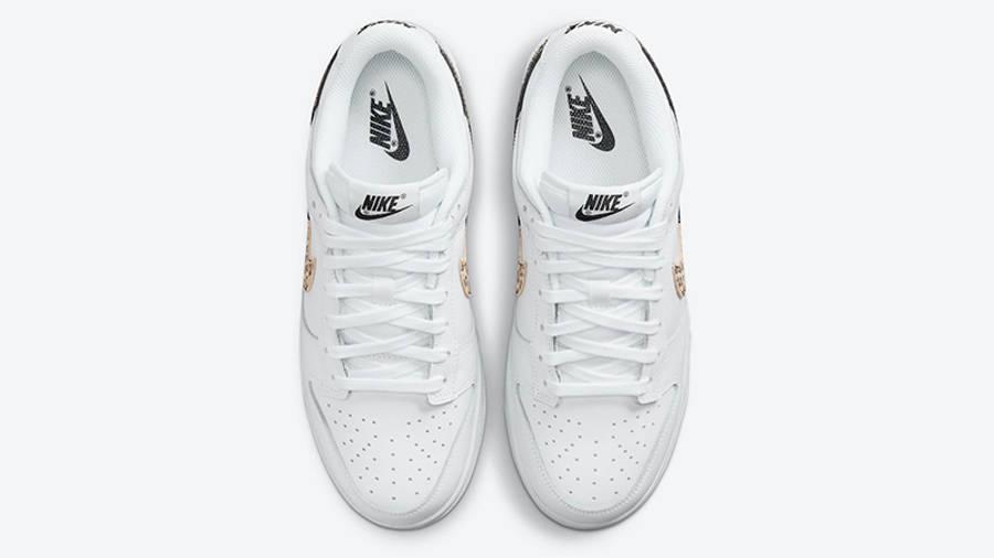 Nike Dunk Low Leopard White DD7099-100 Top