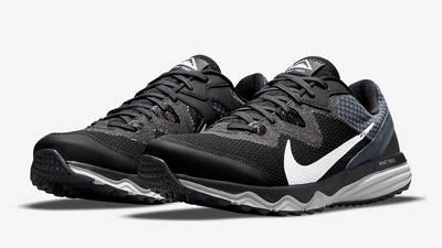 Nike Juniper Trail Black Grey CW3808-001 Side
