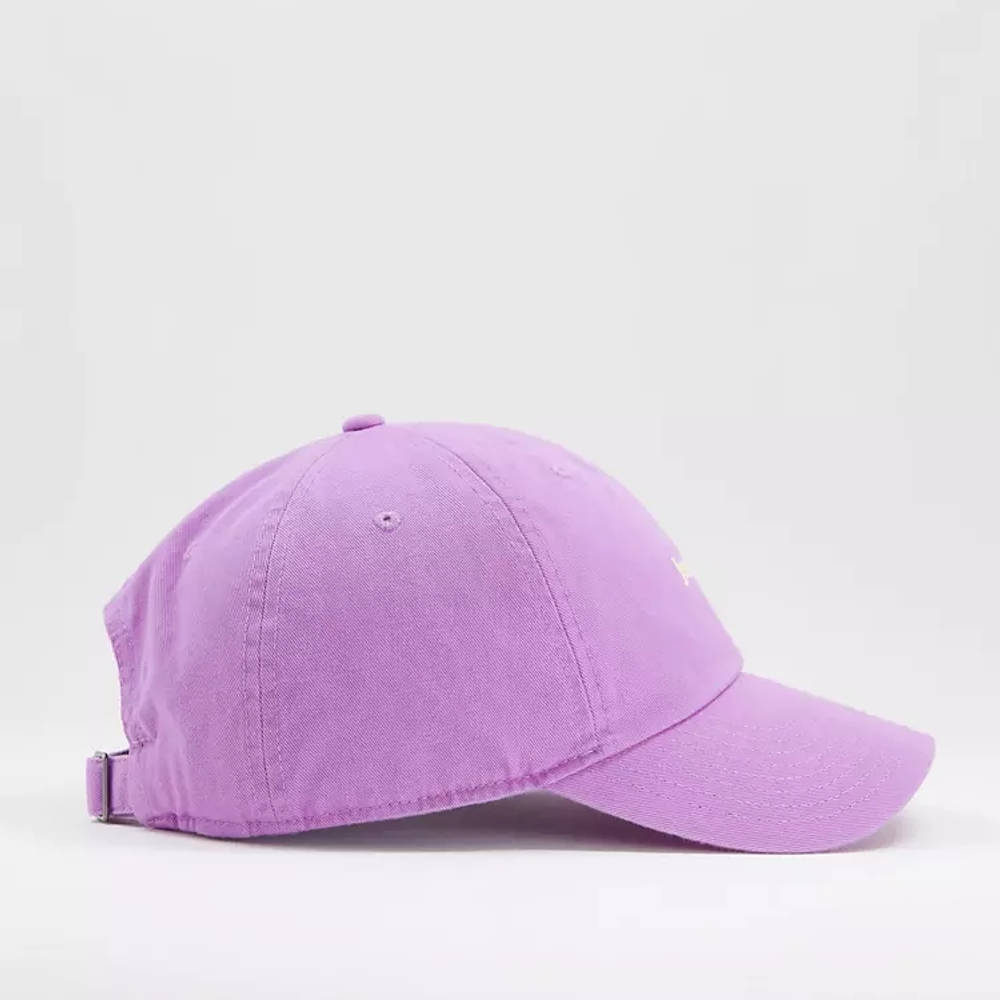 Nike Just Do It Washed Cotton Cap Lilac Side