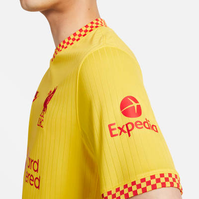 Nike Liverpool F.C. 2021-22 Stadium Third Football Shirt DB5902-704 Detail 3