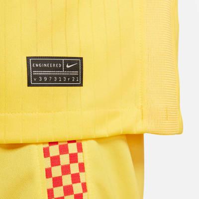 Nike Liverpool F.C. 2021-22 Stadium Third Football Shirt DB5902-704 Detail 4