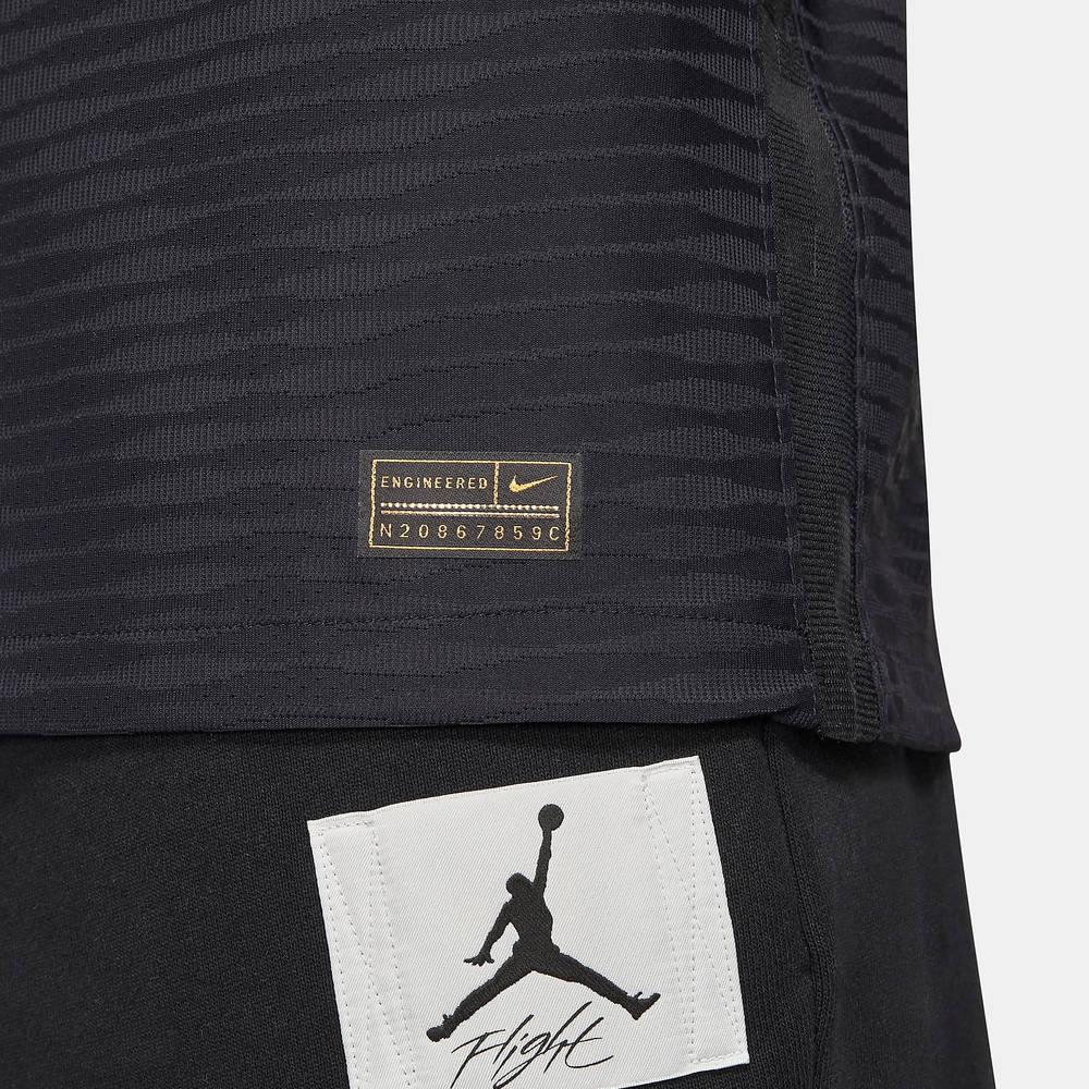 Nike Paris Saint-Germain 2021-22 Match Third Football Shirt DB5887-011 Detail 4