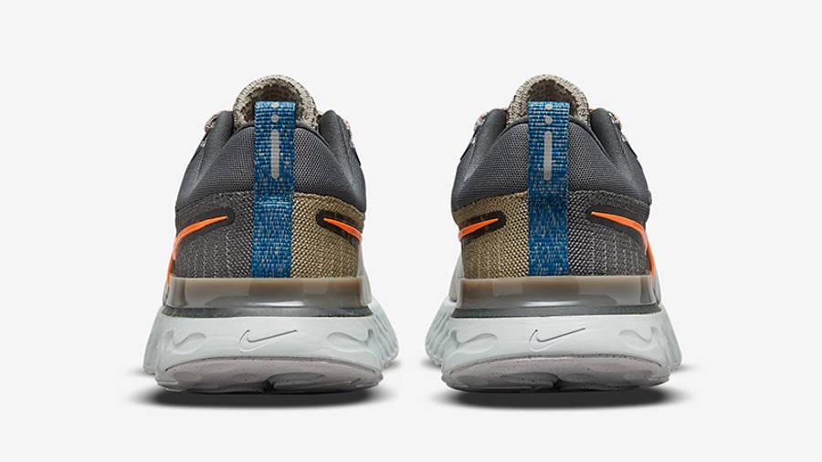 Nike React Infinity Run Flyknit 2 Sport Spice DC4577-001 Back
