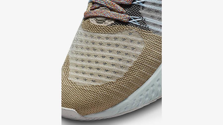 Nike React Infinity Run Flyknit 2 Sport Spice DC4577-001 Detail