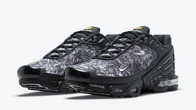 Nike TN Air Max Plus 3 Black Graphic DO6386-001 front