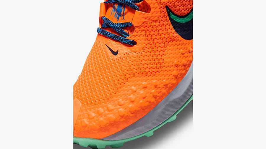 Nike Wildhorse 7 Total Orange CZ1856-800 Detail